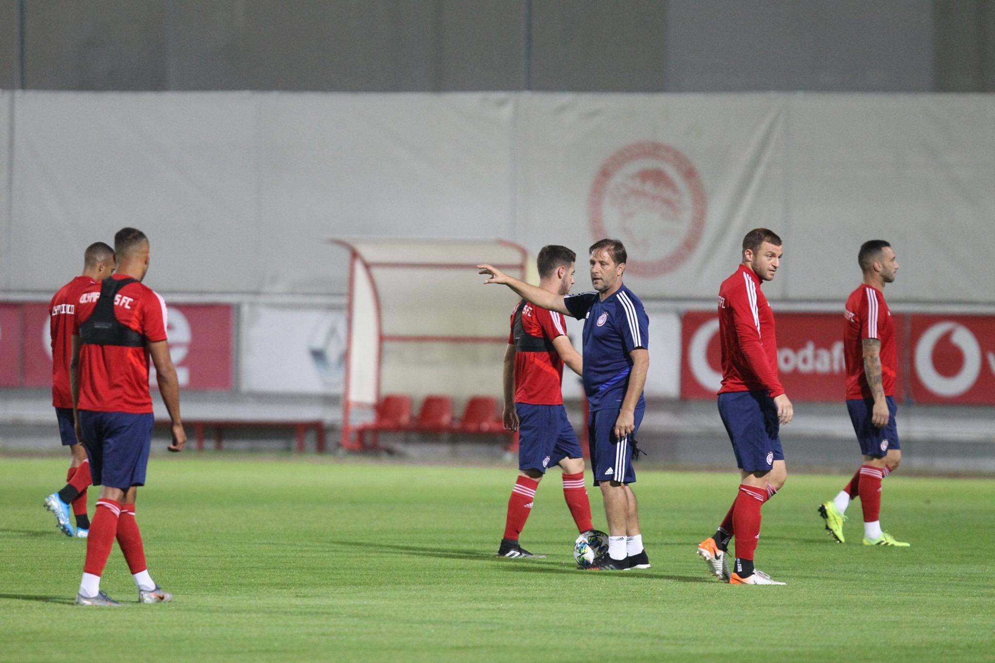 """Ολυμπιακός: """"Ξεμούδιασμα"""" με τριάρα αλλά χωρίς Λάζαρο!"""