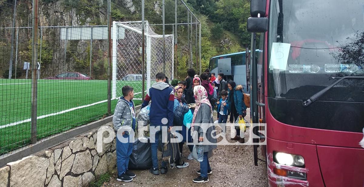 Ηλεία: Έφτασαν οι πρώτοι πρόσφυγες που θα φιλοξενηθούν σε μοναστήρια [pics]