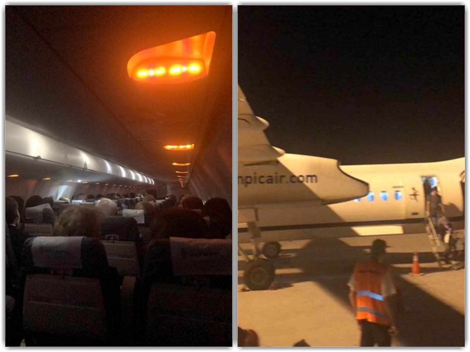 Καιρός: Αεροσκάφος δεν κατάφερε να προσγειωθεί στο αεροδρόμιο Ιωαννίνων