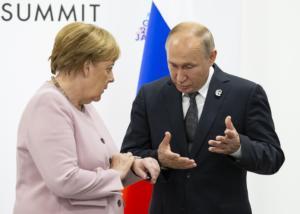 Για ειδικό καθεστώς στο Ντονμπάς συμφώνησαν Πούτιν και Μέρκελ