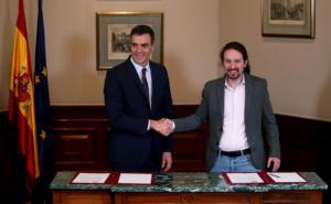 Ισπανία: Συμμαχία τετραετίας για Σάντσεθ και Ιγκλέσιας! Ψάχνουν τον τρίτο για να συγκυβερνήσουν