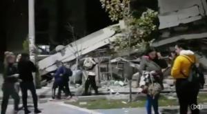 Σεισμός στην Αλβανία – Κατέρρευσαν πολυκατοικίες από τα 6,4 Ρίχτερ