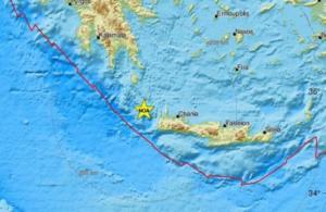 Σεισμός: Πανικός σε Ηράκλειο και Χανιά από τα 6,1 Ρίχτερ – Ο κόσμος στους δρόμους!