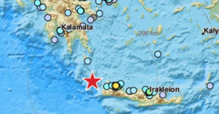 Σεισμός 6,1 ρίχτερ στην Κρήτη