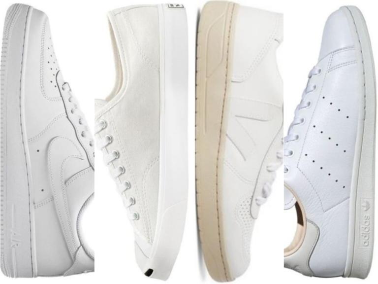 8 λευκά sneakers που μπορείτε να φοράτε όλες τις εποχές του χρόνου