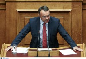 Σταϊκούρας: Την επόμενη εβδομάδα η πρόωρη αποπληρωμή των δανείων του ΔΝΤ