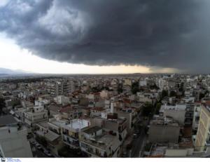 Καιρός – meteo: Συννεφιασμένη Κυριακή με τοπικές καταιγίδες!