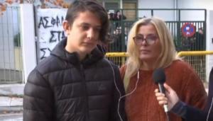 Θεσσαλονίκη: Επίθεση με σιδερογροθιές σε 13χρονο μαθητή – Σκληρές εικόνες στο σχολείο κατά τη διάρκεια διαλείμματος – video