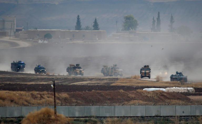 Συρία: Ξεκίνησε η δεύτερη κοινή περιπολία Τουρκίας – Ρωσίας κοντά στο Κομπάνι