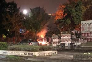 Θεσσαλονίκη: Κουκουλοφόροι ταμπουρώθηκαν στην Πολυτεχνική Σχολή του ΑΠΘ – Άναψαν φωτιές!