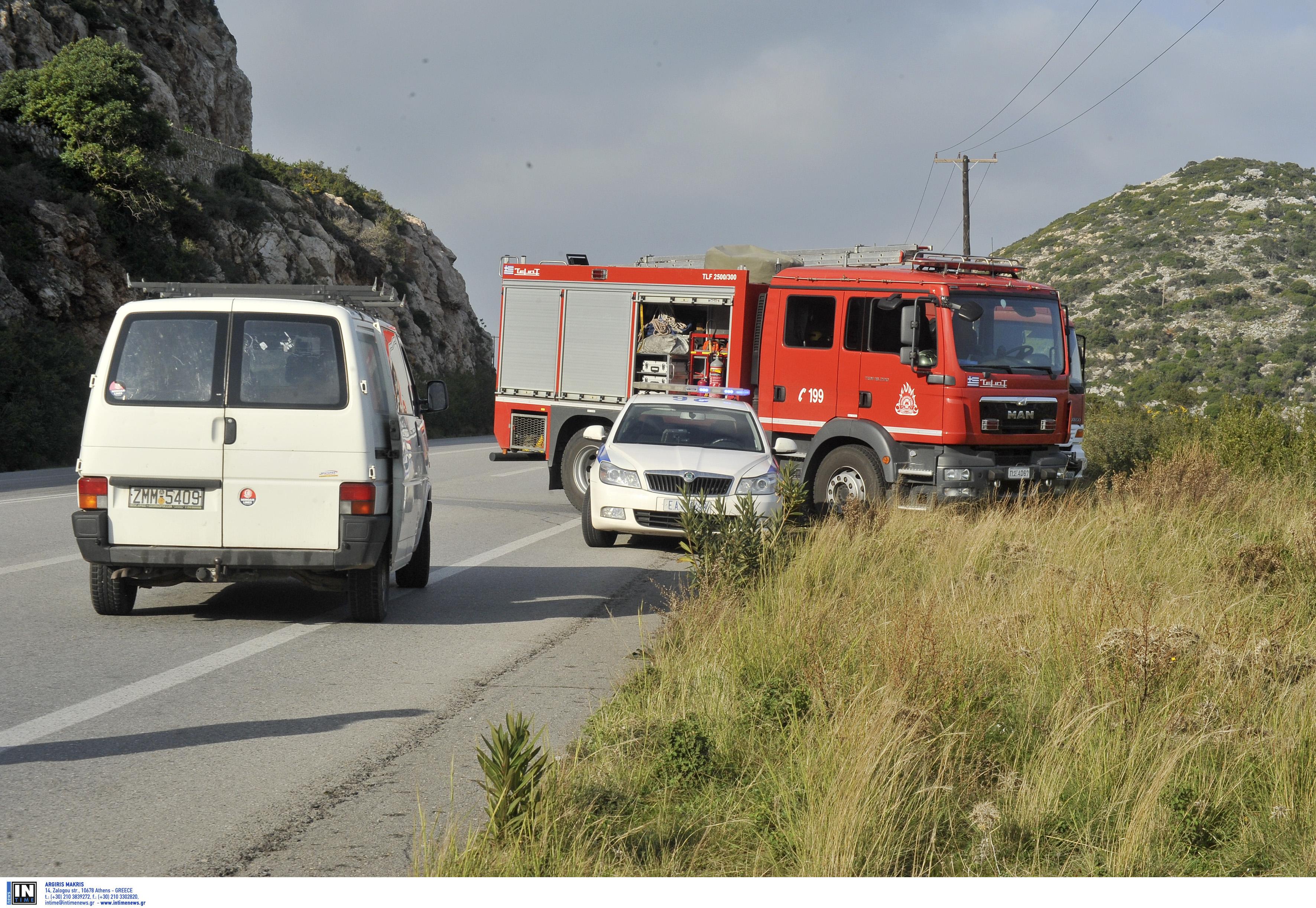 Νέο θανατηφόρο τροχαίο στην Κρήτη