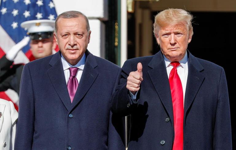 """""""Φιλαράκια"""" τώρα Τραμπ και Ερντογάν"""
