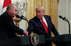 Νταηλίκια Ερντογάν: Είπα στον Τραμπ πως δεν εγκαταλείπουμε τους S-400