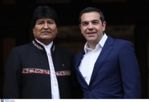 Έβο Μοράλες: Αποκαλύψεις και επικοινωνία με τον Αλέξη Τσίπρα!