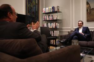 Τσίπρας: Τα είπε με τον… παλιόφιλο Ολάντ στο Παρίσι! pics