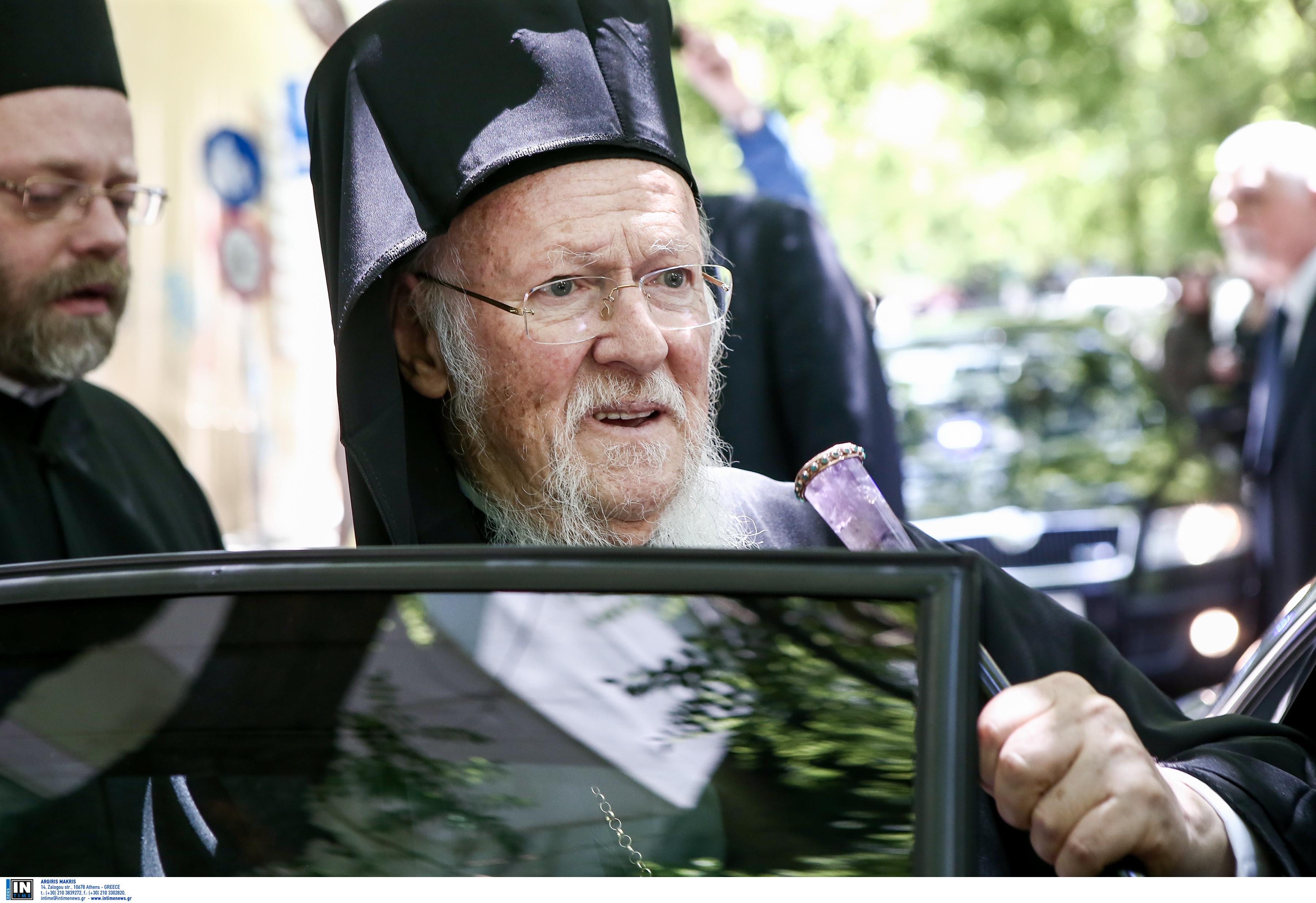 """Οικουμενικός Πατριάρχης Βαρθολομαίος: """"Μυστήριο"""" με τη διάρρηξη στο σπίτι του - Τι ερευνούν οι αρχές"""