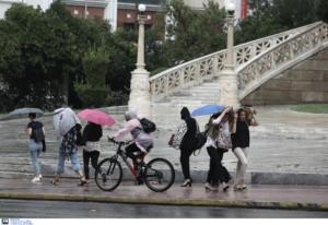 Καιρός: Αγριεύει από το απόγευμα στην Αττική με βροχές και καταιγίδες [ΧΑΡΤΗΣ]
