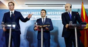 """Βούτσιτς: Προχωράει με γοργούς ρυθμούς η """"μικρή Σέγκεν"""" των Βαλκανίων!"""