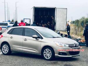 Ξάνθη: Παραλίγο νέο Έσσεξ με 80 μετανάστες κλεισμένους σε φορτηγό ψυγείο [pics, video]