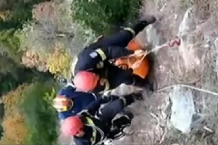 Κατερίνη: Νέες σκληρές εικόνες στη χαράδρα που σκοτώθηκαν μάνα και κόρη – Δάκρυα για το τραγικό τέλος τους – video