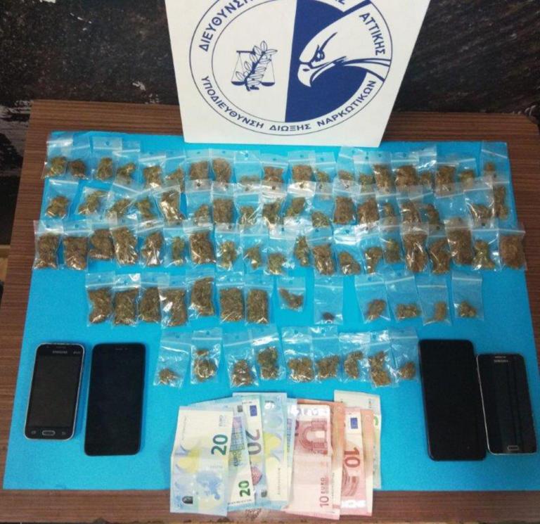Εξάρχεια: 4 συλλήψεις για κατοχή και διακίνηση ναρκωτικών