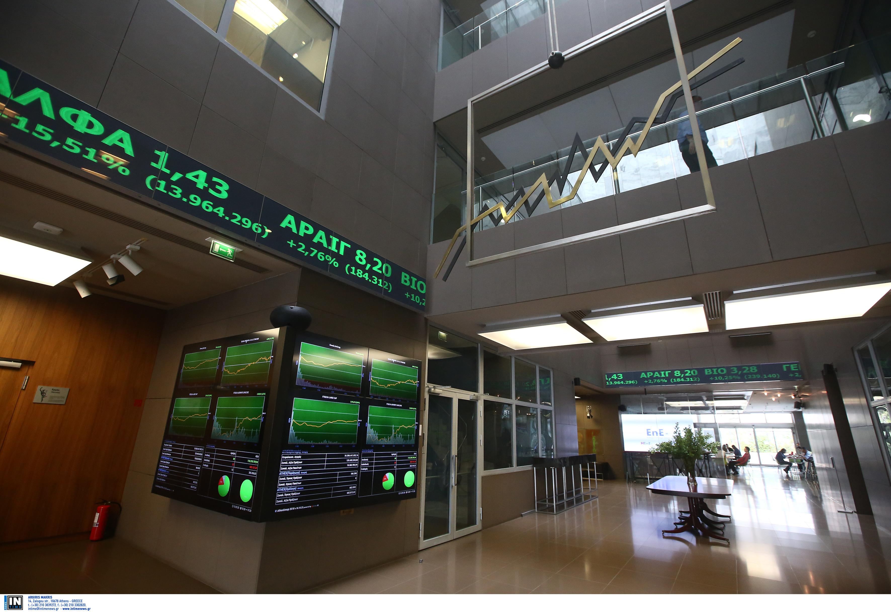 """Χρηματιστήριο: Εντυπωσιακή άνοδος 29,40% τον Νοέμβριο, """"έκρηξη"""" κερδών 69,63 % στις τράπεζες"""