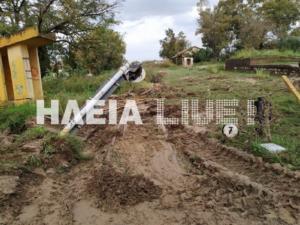 Ηλεία: Αποκλεισμένοι κάτοικοι στη Ζαχάρω [Pics, video]