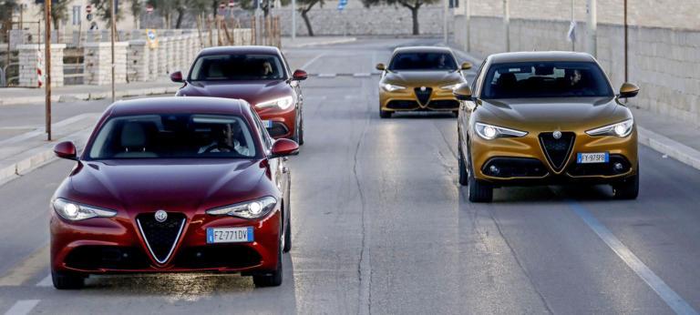 Δοκιμάζουμε τις νέες Alfa Romeo Giulia και Stelvio [pics]