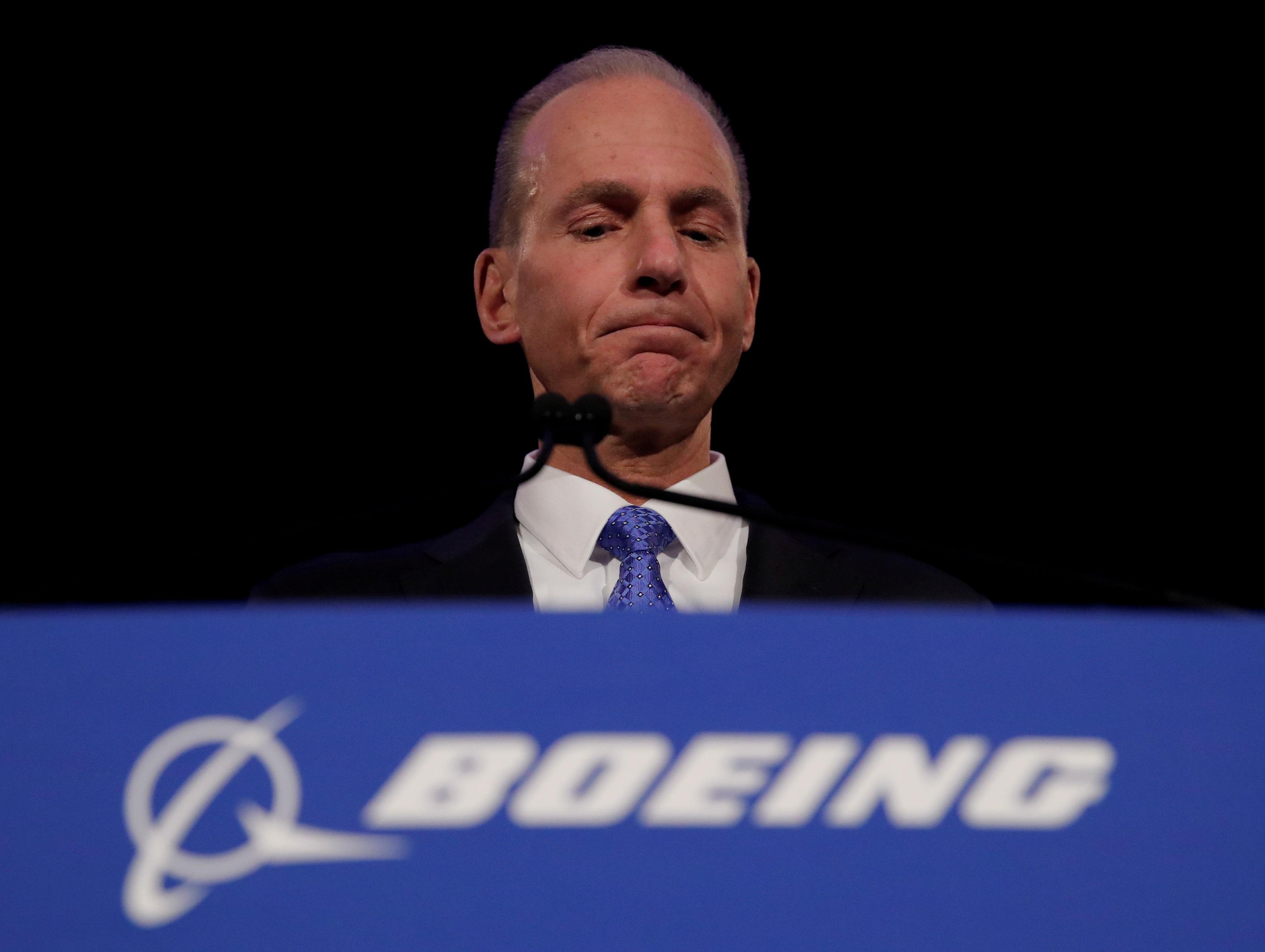 "Boeing: Παραίτηση ""βόμβα"" του γενικού διευθυντή Ντένις Μούλενμπεργκ"