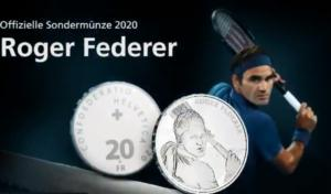 """Φέντερερ: Η Ελβετία """"κόβει"""" νόμισμα με τον θρύλο του τένις! video"""