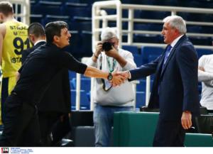 Παναθηναϊκός – Φενέρμπαχτσε: Χειραψία του κεφάτου Γιαννακόπουλου με τον Ομπράντοβιτς! [pics]