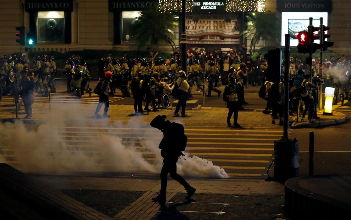 Χονγκ Κονγκ - Διαδήλωση