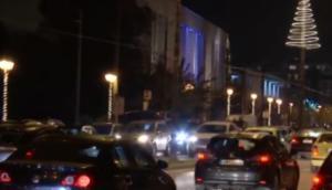 Στο «κόκκινο» η κίνηση στο κέντρο της Αθήνας από τη στάση εργασίας στο μετρό