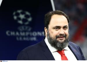 """Ολυμπιακός – Μαρινάκης: """"Συνεχίζουμε να εκπροσωπούμε την Ελλάδα με υπερηφάνεια"""""""