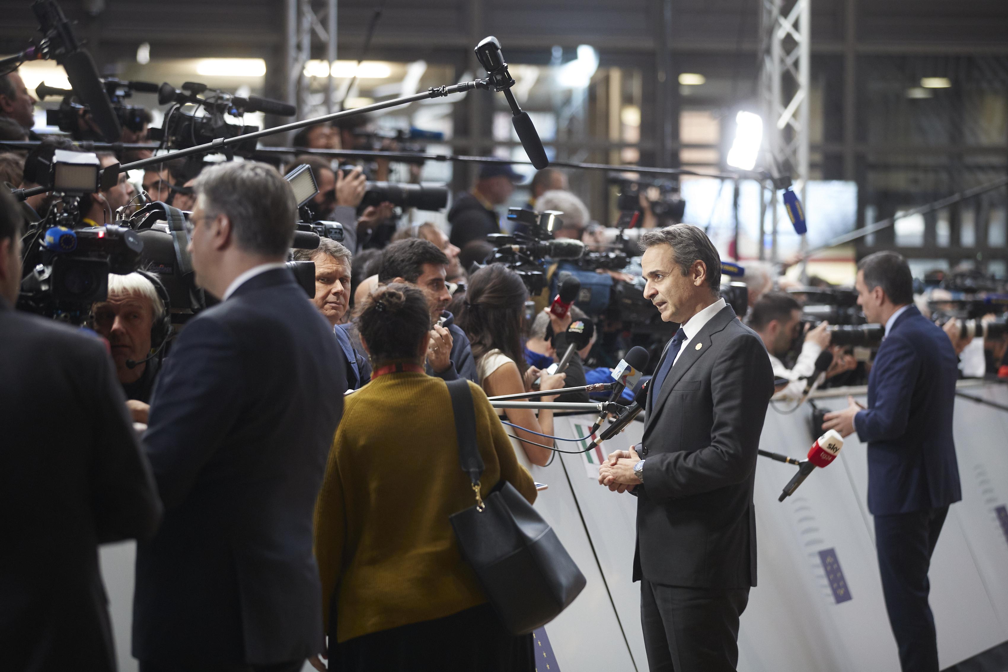 Μητσοτάκης - Σύνοδος Κορυφής ΕΕ