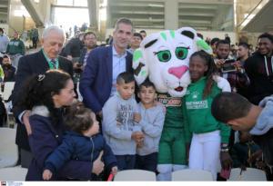 """Ο Μπακογιάννης στο Παναθηναϊκός – Αστέρας Τρίπολης! """"Έχουμε καλή συνεργασία για το γήπεδο"""""""
