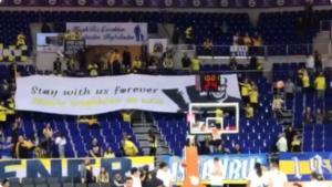"""""""Αποθέωση"""" για Ομπράντοβιτς! Πανό στήριξης από τους οπαδούς της Φενέρμπαχτσε – video"""