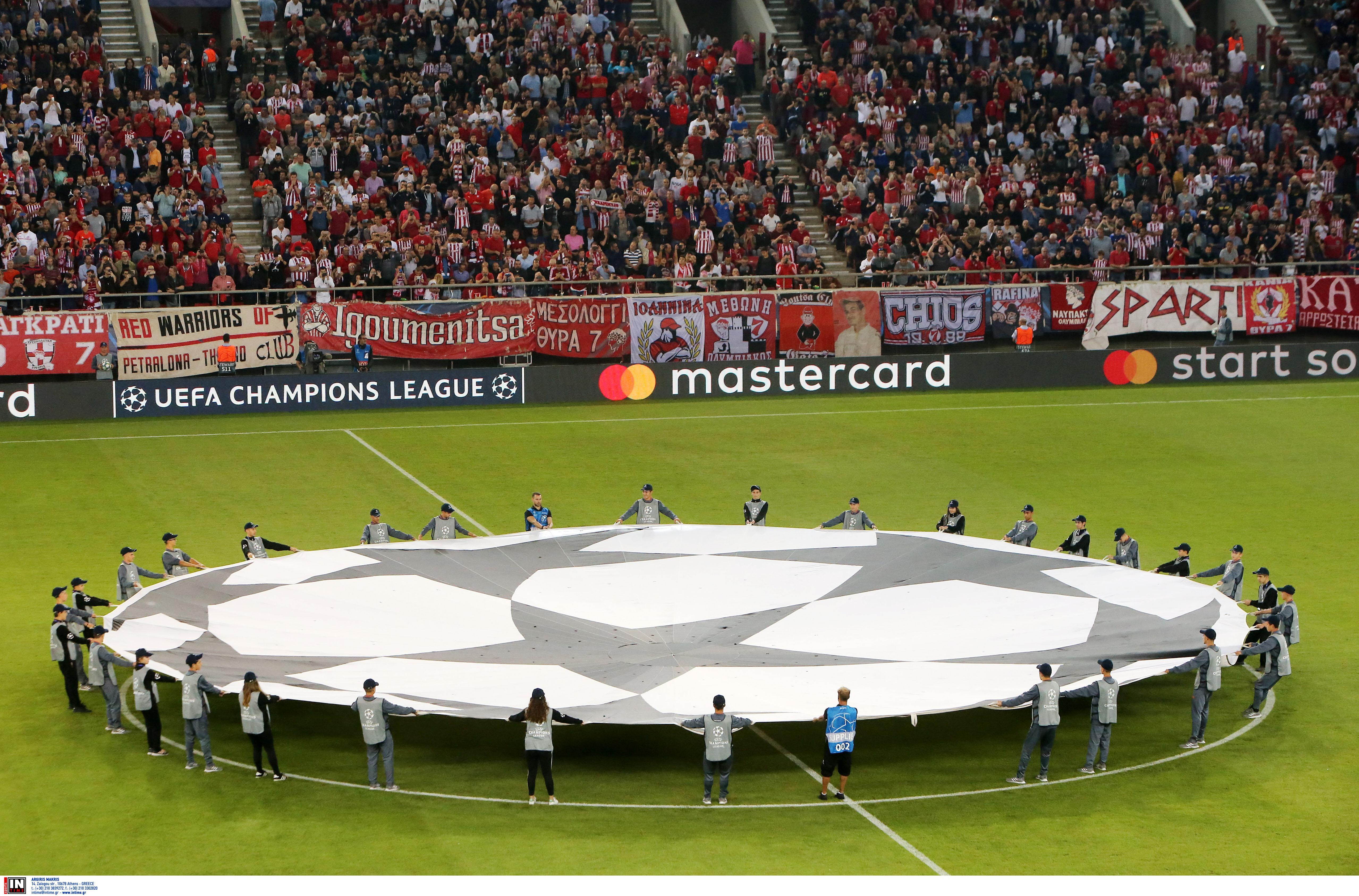 Champions League: «Βατή» κλήρωση για τον Ολυμπιακό στον 3ο προκριματικό