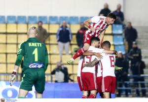 """Παναιτωλικός – Ολυμπιακός 0-3 ΤΕΛΙΚΟΣ: """"Περίπατος"""" για τους """"ερυθρόλευκους"""""""