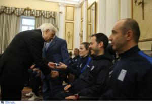 """Παυλόπουλος προς αθλητές με αναπηρία: """"Αποτελείτε παράδειγμα για όλους"""" – pics"""
