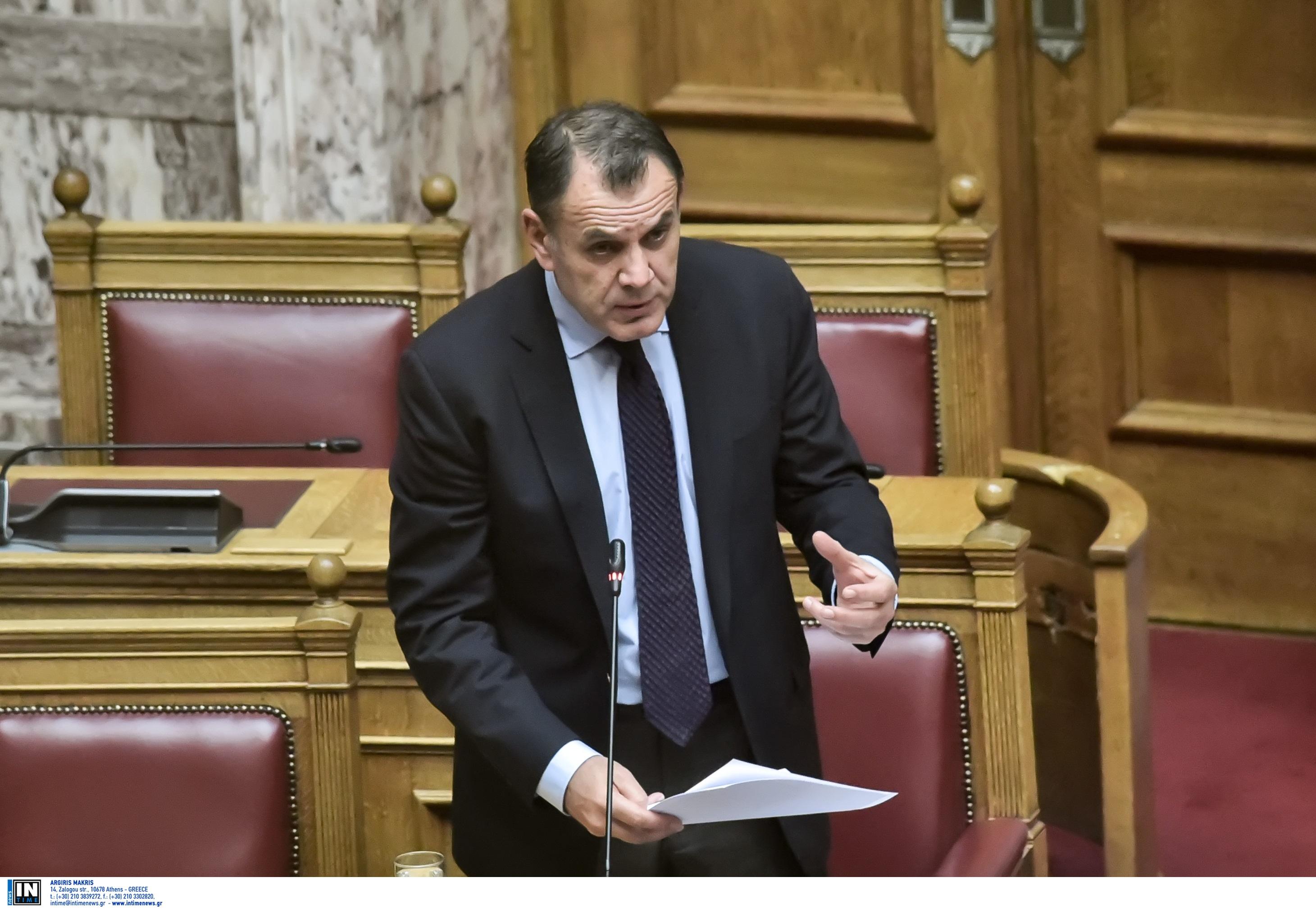 Παναγιωτόπουλος: Επί του παρόντος δεν υπάρχει θέμα αύξησης της στρατιωτικής θητείας