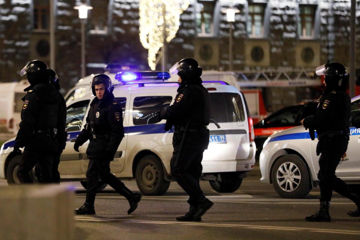 Μόσχα - πυροβολισμοί