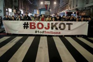 Σερβία: Αντιπολιτευτικός κλοιός γύρω από την κρατική ραδιοτηλεόραση
