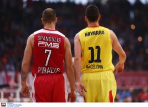 """Ναβάρο: """"Ο Σπανούλης είναι σημείο αναφοράς στη Euroleague!"""""""