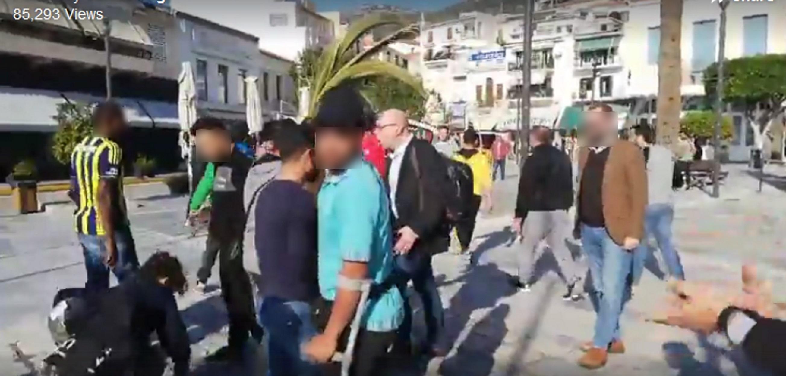 """Δήμαρχος Ανατολικής Σάμου σε μετανάστες: """"Go! Go now!"""" video"""