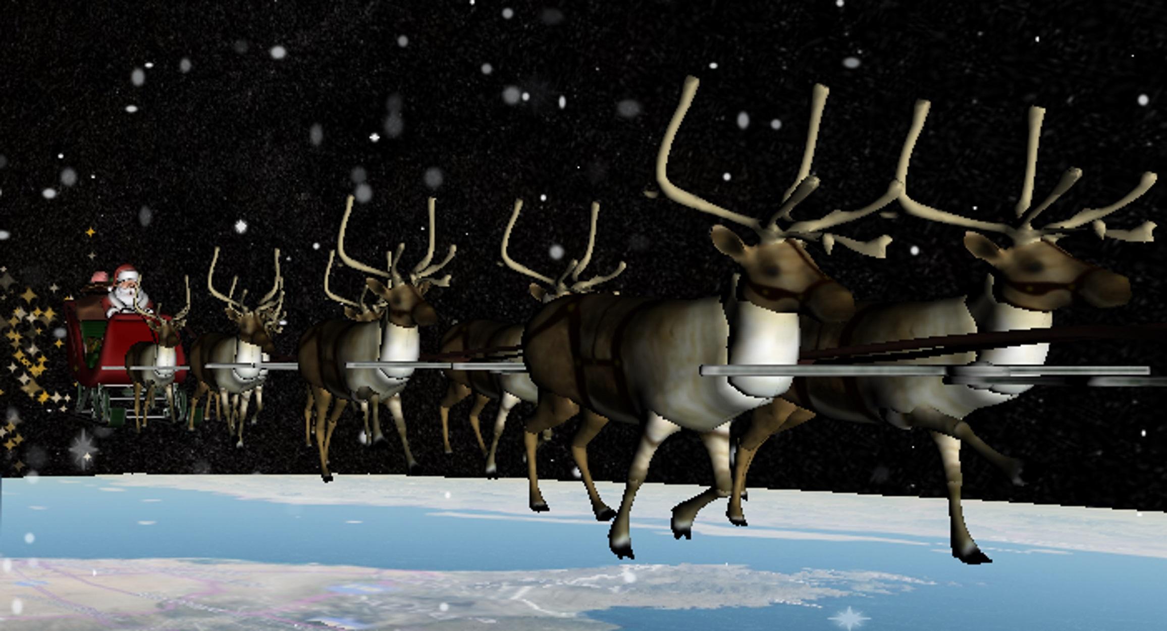 Αστροναύτες βοηθούν να παρακολουθούμε LIVE το ταξίδι του Άγιου Βασίλη