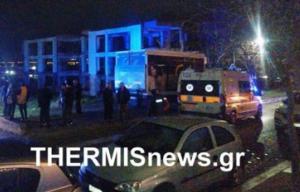 Θεσσαλονίκη: Στο νοσοκομείο το 13χρονο παιδί που έπεσε στο κενό από τον δεύτερο όροφο ημιτελούς πολυκατοικίας [video]