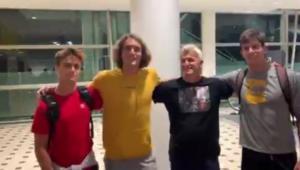 Ο Τσιτσιπάς και η ελληνική ομάδα έφτασαν στην Αυστραλία για το ATP Cup! [video, pic]