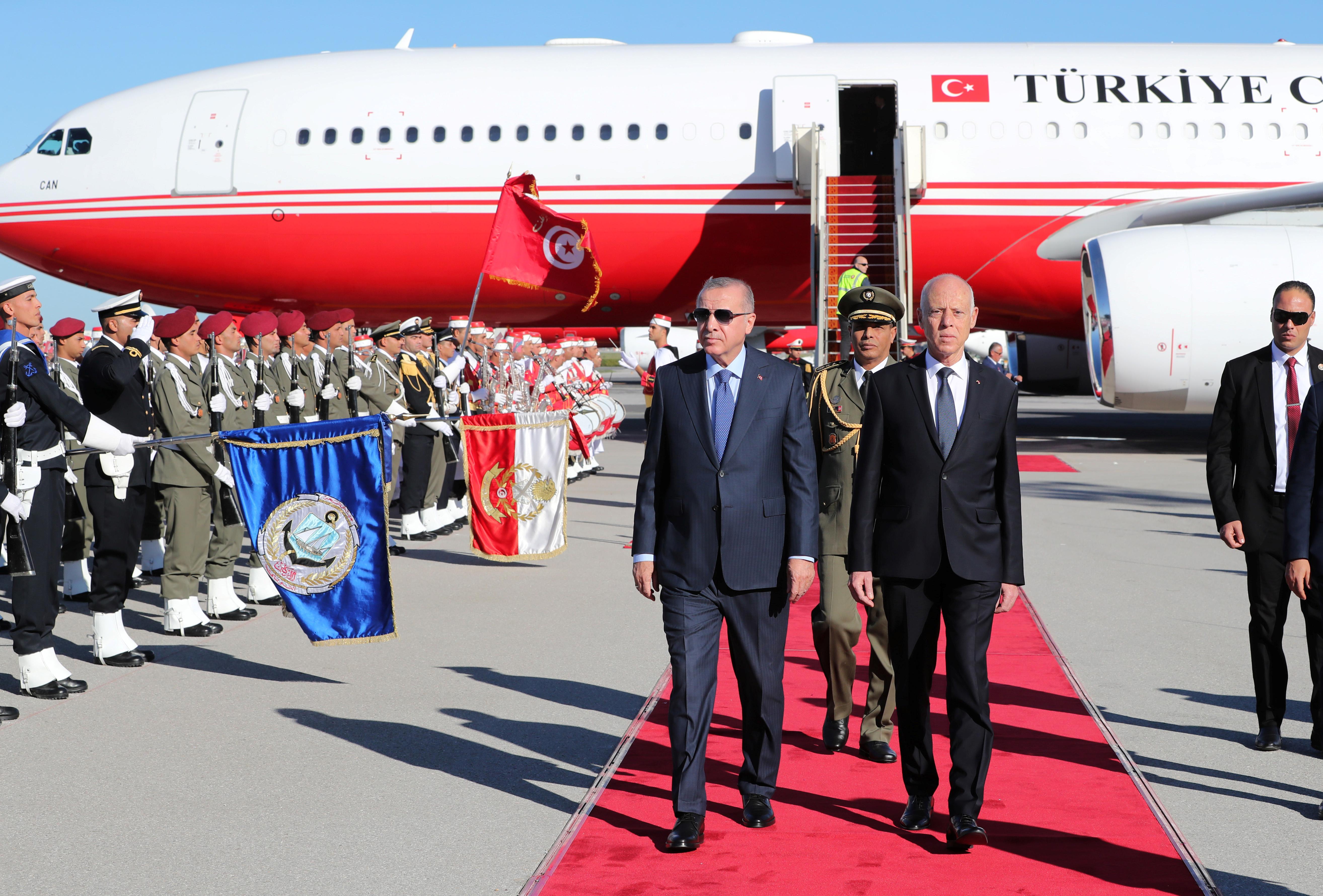 Ερντογάν - Τυνησία