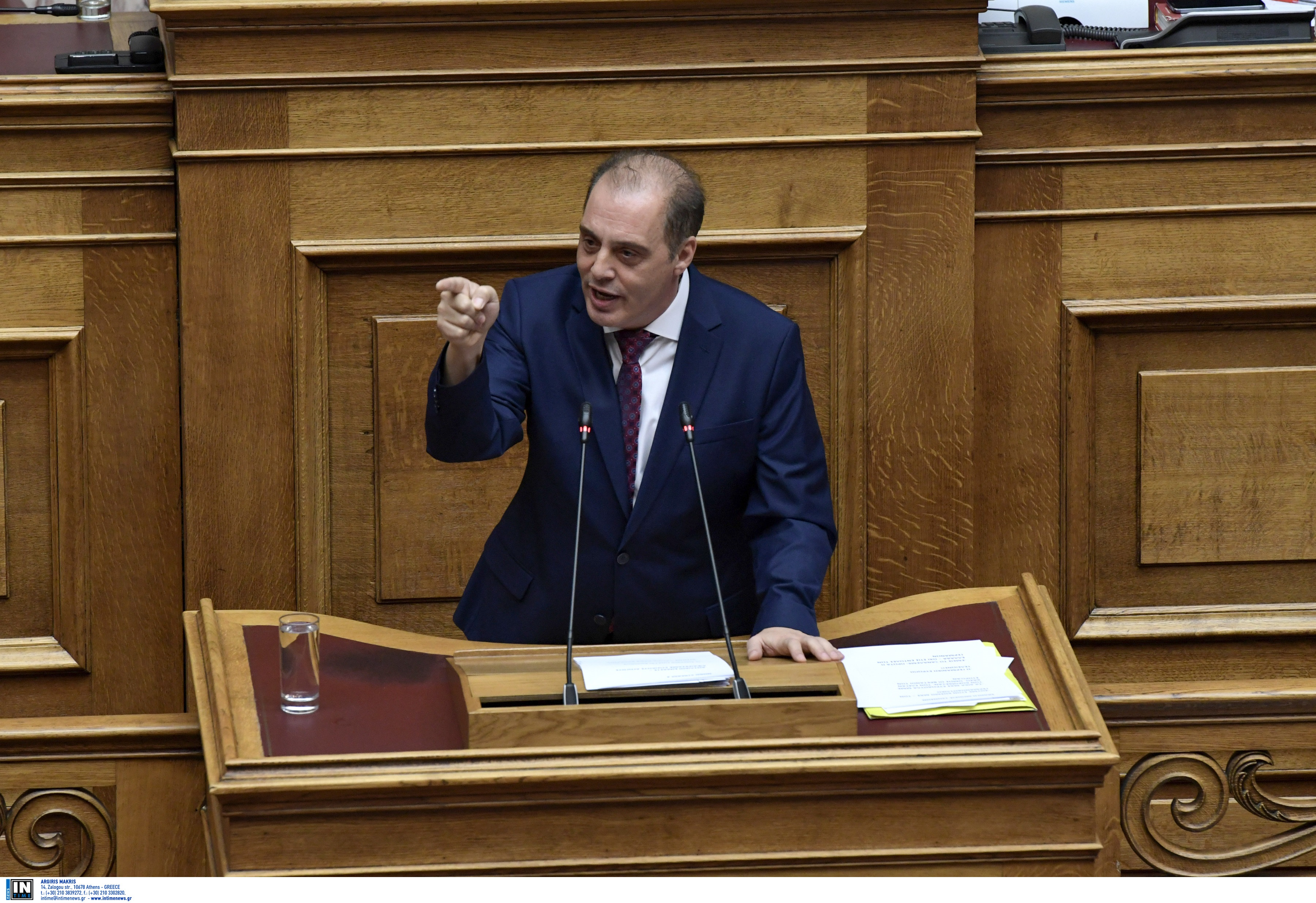 """Προϋπολογισμός 2020: """"Να μην διανοηθούν να πάνε απροετοίμαστοι στην Χάγη"""", είπε ο Βελόπουλος"""